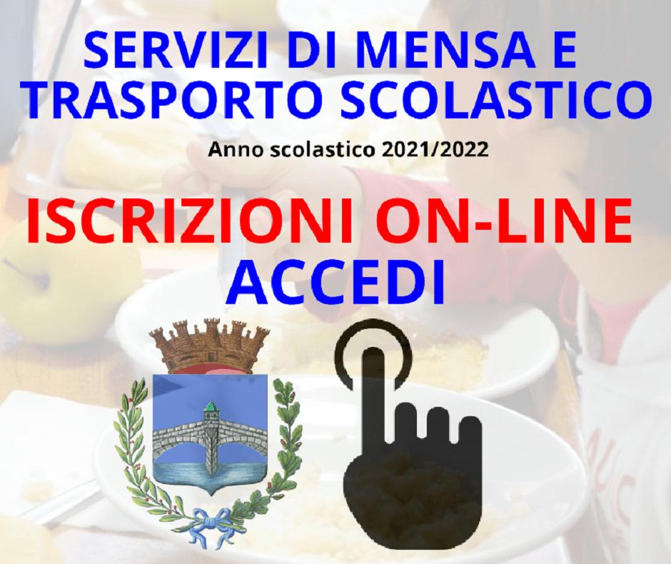 APERTURA ISCRIZIONI SERVIZIO MENSA e TRASPORTO SCUOLABUS A.S. 2021/22