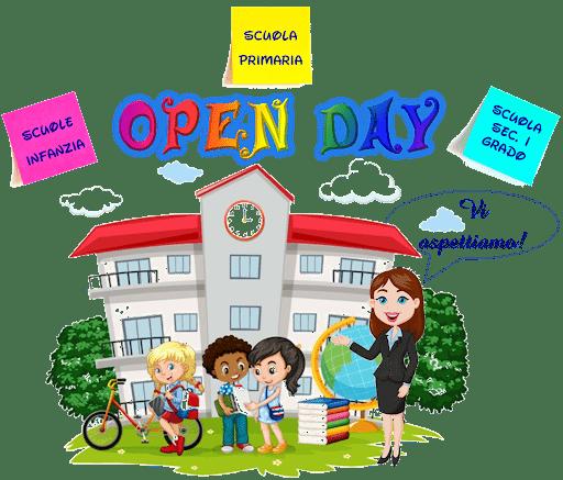 OPEN DAY A.S. 2021/22 – Visita virtuale dei Plessi e offerta formativa dell'Istituto.