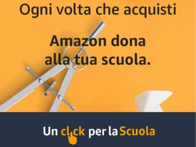"""Iniziativa """"Un click per la scuola"""" – Amazon"""