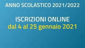 APERTURA ISCRIZIONI ANNO SCOLASTICO 2021/22 – INDICAZIONI OPERATIVE E MODULISTICA.