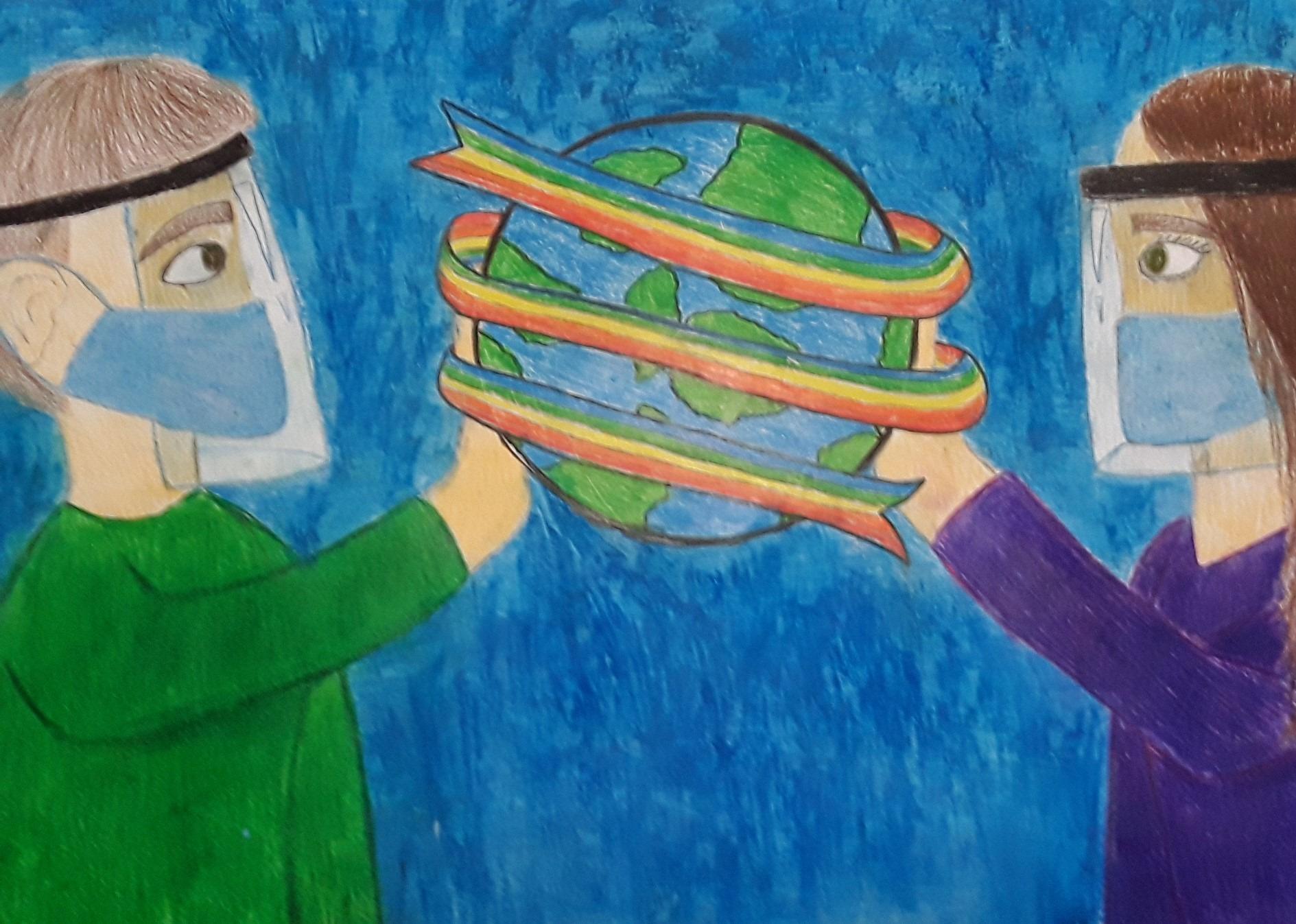 """Premio Concorso """"Poster per la Pace""""  – Scuola secondaria di I grado"""